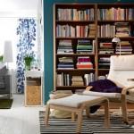 avatud lahendusega rohe-sinine elutuba