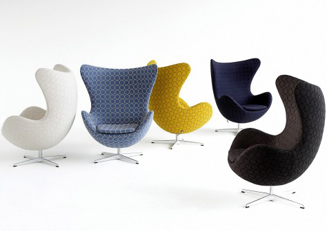 Disaintoolid – Jacobsen Egg Chair ja Pantoni Chair