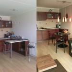 Köök enne ja pärast