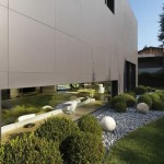 Enrico Iascone Architects designed this home in Sassuolo, Italy
