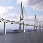 Fehmarn Belt Bridge (Baltic Sea, Germany and Denmark)