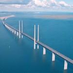 Oresund Bridge (Oresund Strait, Denmark and Sweden)