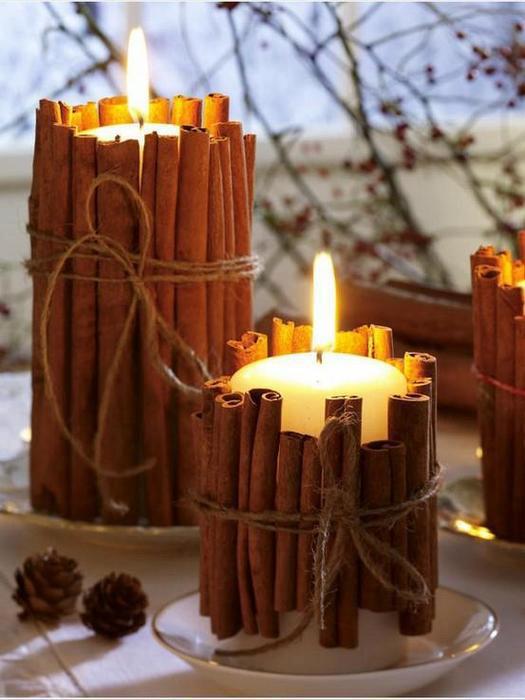 Jõuluehted, küünlad jm jõuluga seonduv