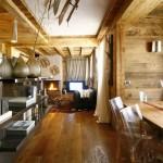 apartment interior design by Gianpaolo Zandegiacomo. This apartment is located in beautiful Italian ski resort, Cortina D'Ampezzo